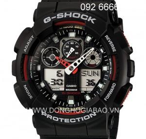ĐỒNG HỒ G-SHOCK-GA-100-1A4HDR